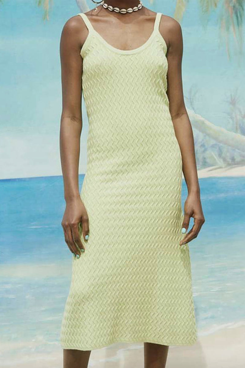 POINT BREAK - Knit Midi Dress
