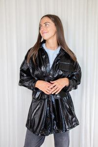 CARIOCA - Vegan Leather Trench Coat
