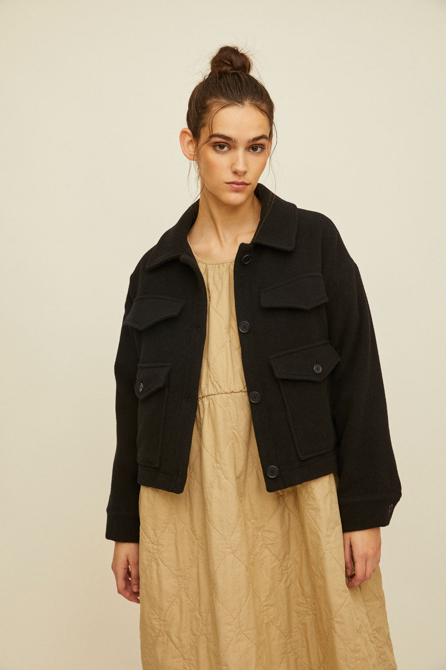 ILA - Cropped Wool Jacket