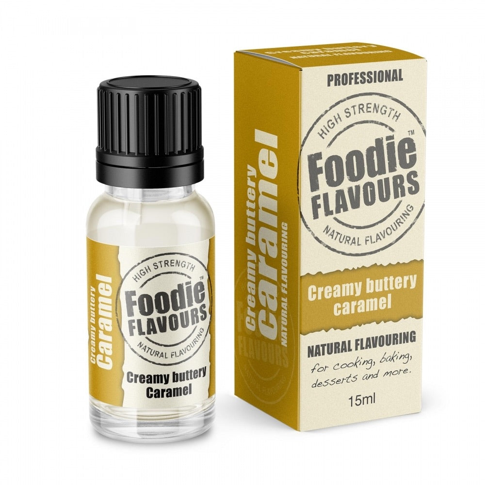 Foodie Flavours • Natural Food Flavourings 15ml🍬🍋🍰🍊