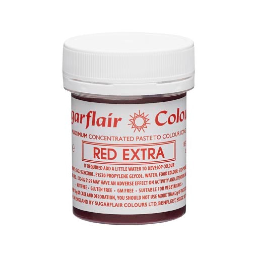 Sugarflair EXTRA Colours • Paste Concentrate 42g 🎨