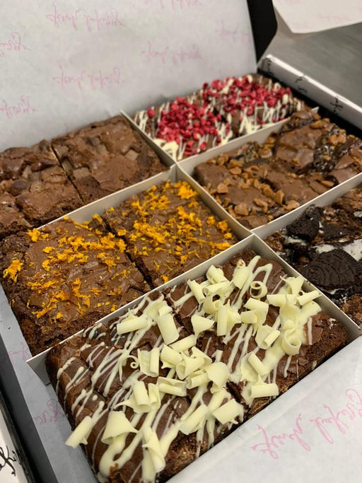 Chocolate Lover's Brownie Mixed Box ❤️🍫