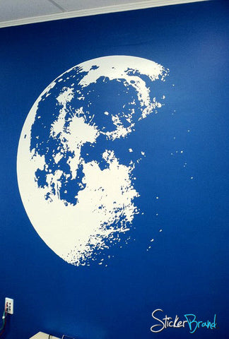 Moon Wall Decal From StickerBrand