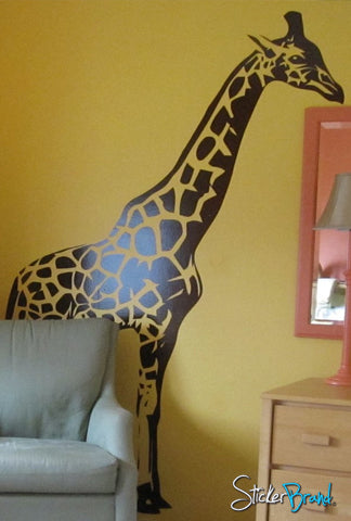 Giraffe Wall Decal From StickerBrand