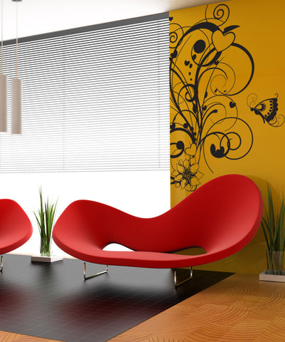 Vinyl Wall Decal Sticker Nature Love #1023