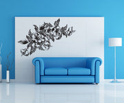 Vinyl Wall Decal Sticker Hawaiian Flowers #1037