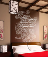 Vinyl Wall Decal Sticker Asian House #1061