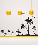 Vinyl Wall Decal Sticker In Paradise #1065