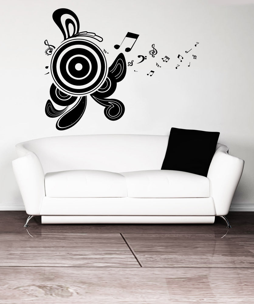 Vinyl Wall Decal Sticker Abstract Speakers #1087