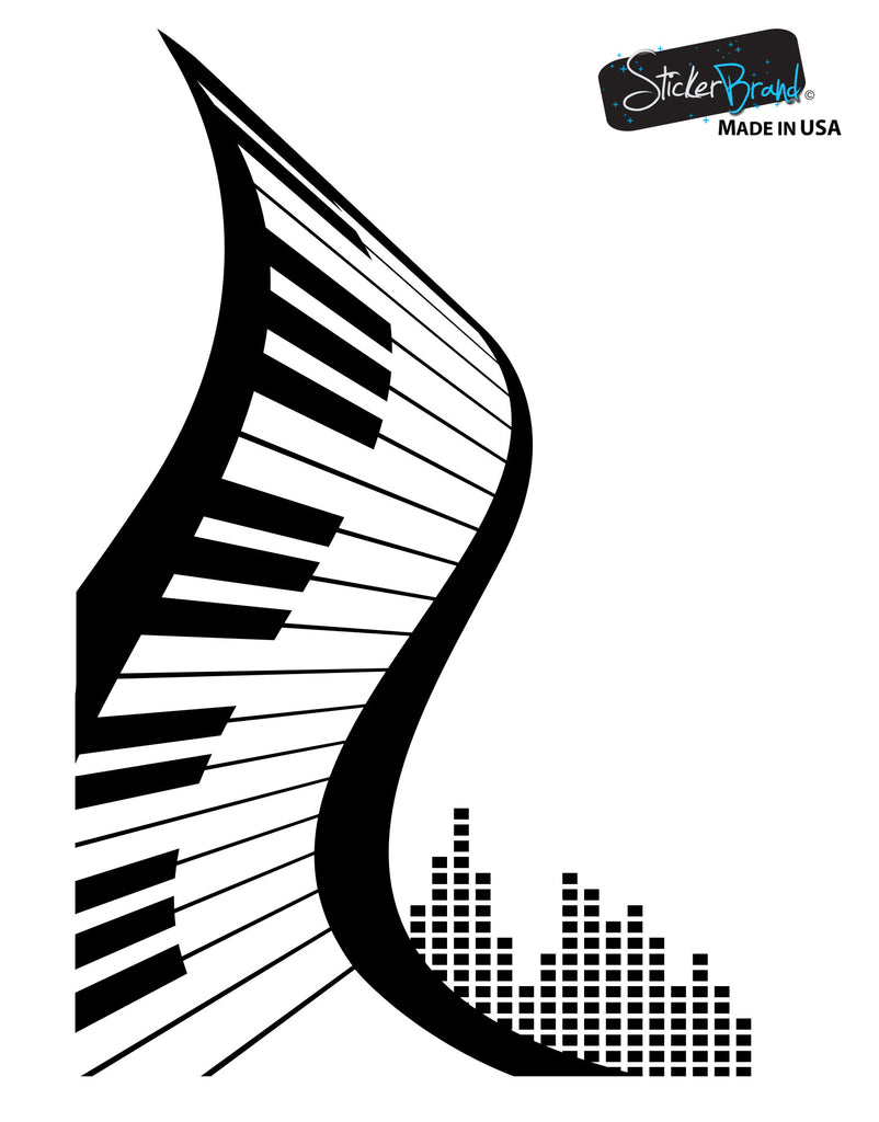 Vinyl Wall Decal Sticker Abstract Piano 1111