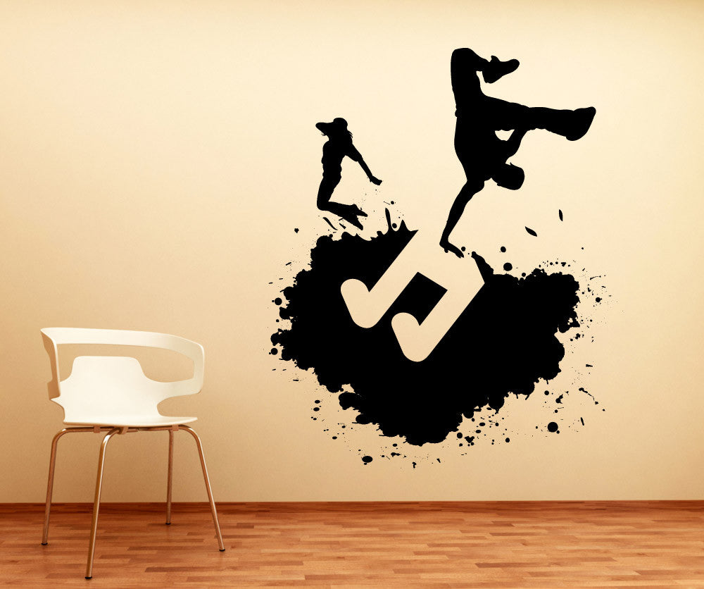 Vinyl Wall Decal Sticker Hip Hop Art #1139