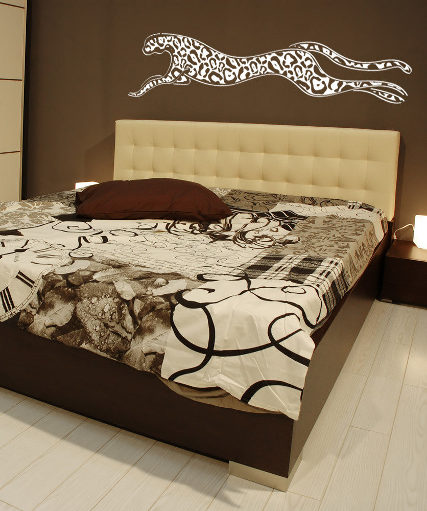 Vinyl Wall Decal Sticker Inverted Cheetah #1154