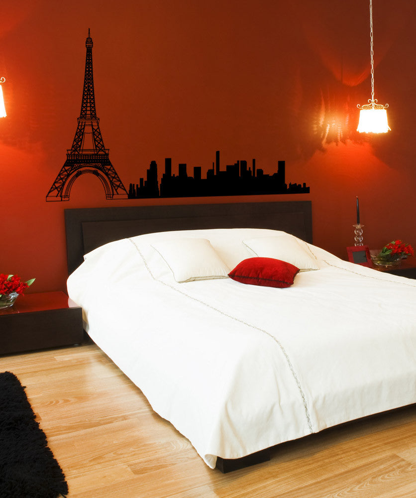 Vinyl Wall Decal Sticker City of Paris #1172