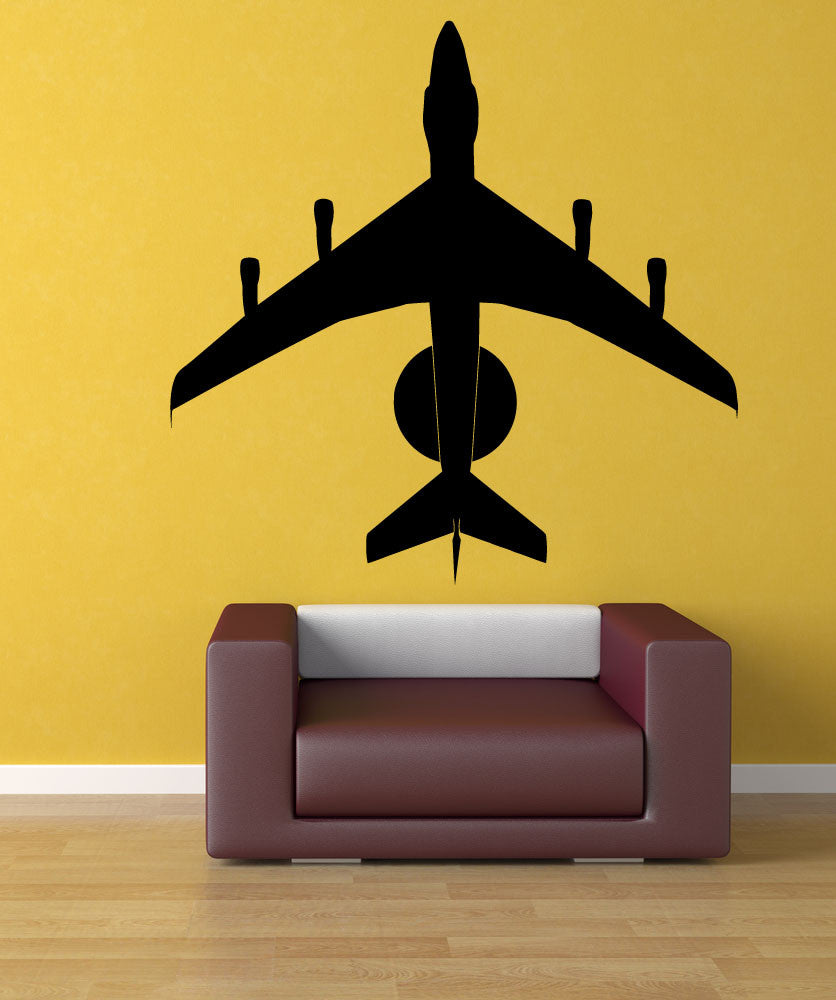 Vinyl Wall Decal Sticker USAF AWACS Airplane #1192