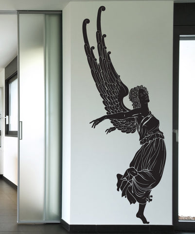 Vinyl Wall Decal Sticker Angel Take Off #1236