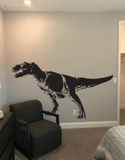 Dinosaur T-Rex Vinyl Wall Art Decal Sticker. #123