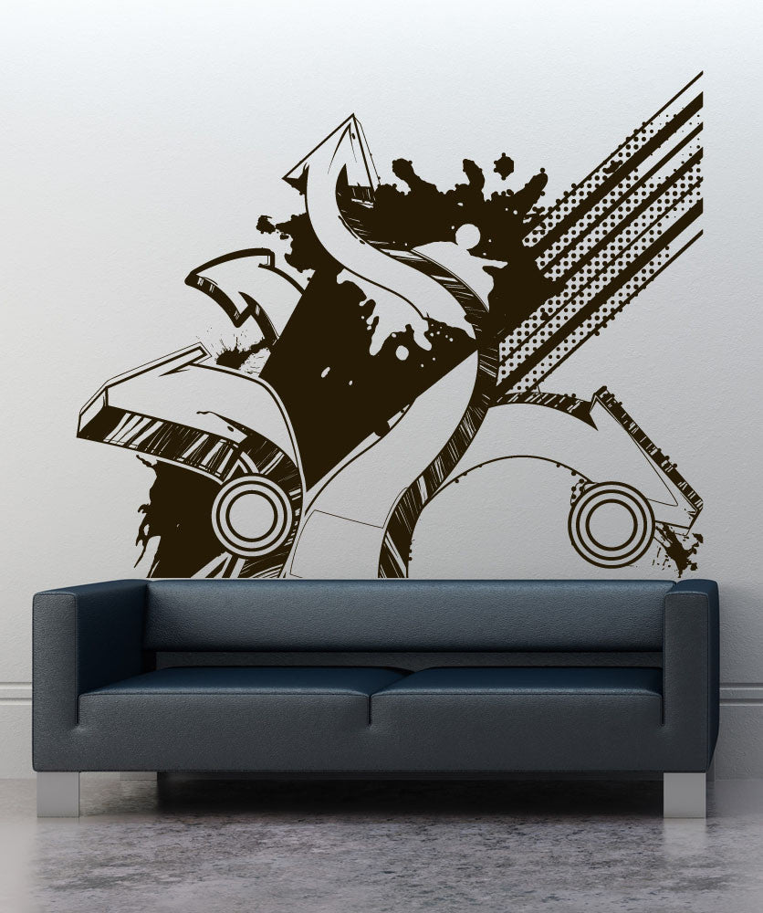 Swirl Designs - Custom vinyl wall decals graffiti