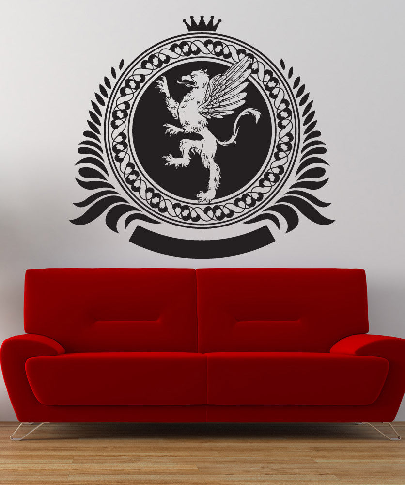 Vinyl Wall Decal Sticker Griffin Creature Design #1248