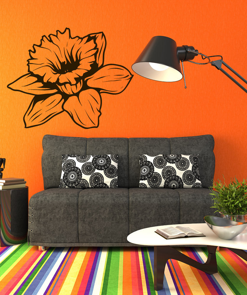 Vinyl Wall Decal Sticker Daffodil #1269