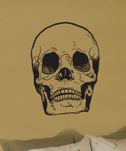 Skull Head Bone Vinyl Wall Art Decal Sticker. #127