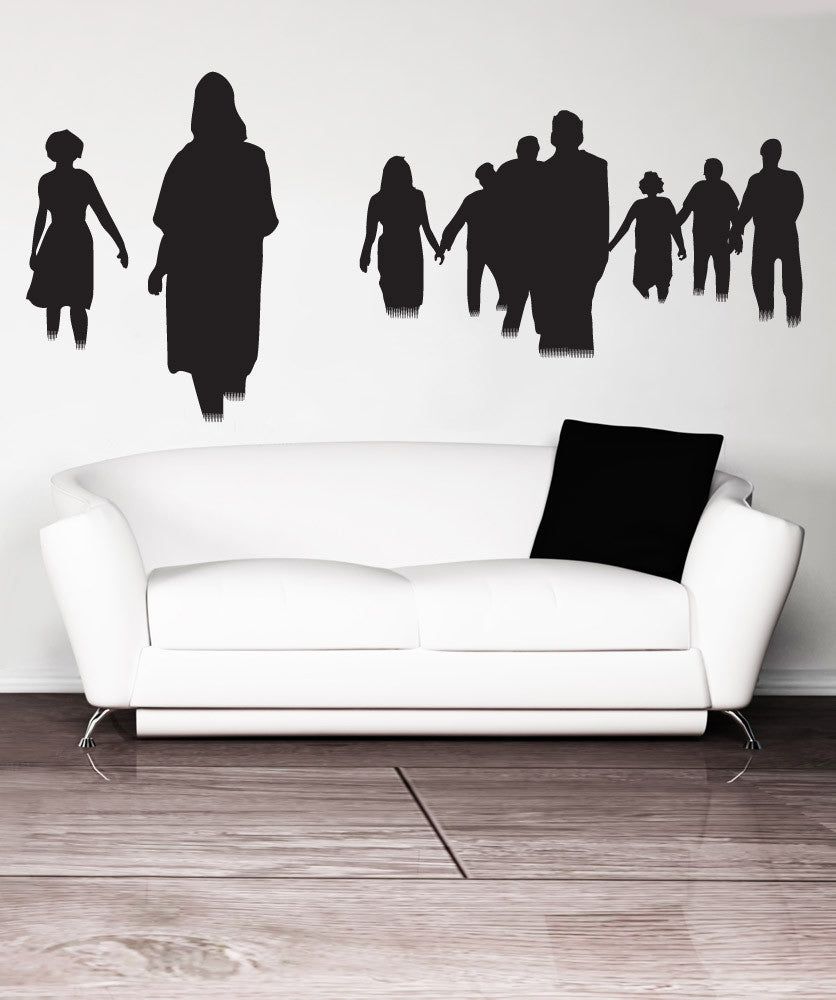 Vinyl Wall Decal Sticker Zombie Shadows #1302