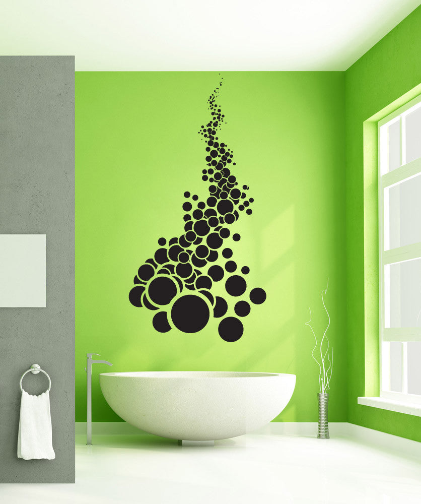 Vinyl Wall Decal Sticker Falling Circles #1303