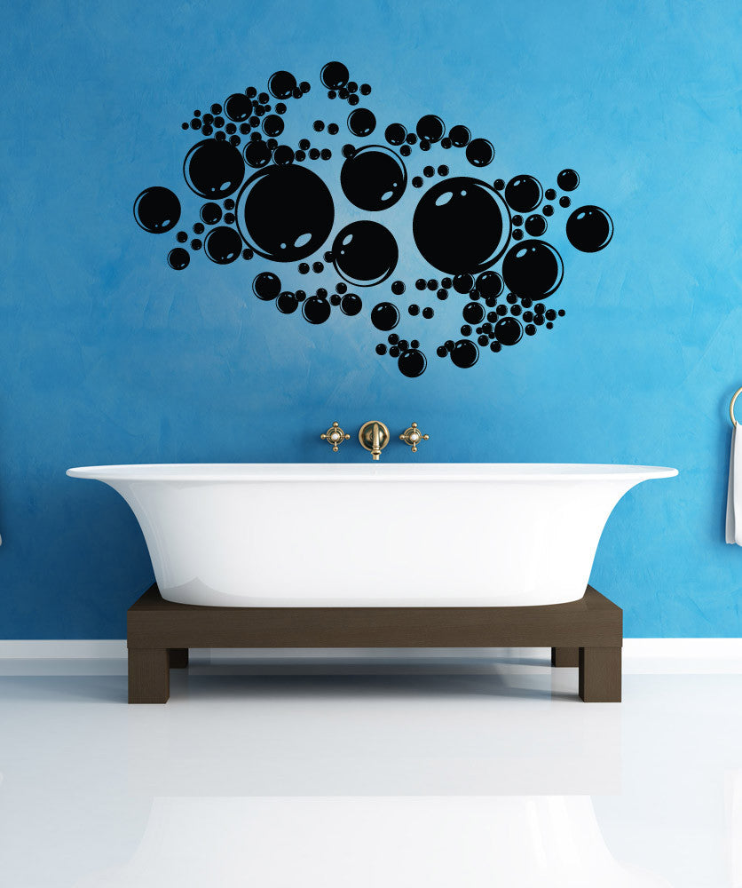 Vinyl Wall Decal Sticker Bubbles #1306