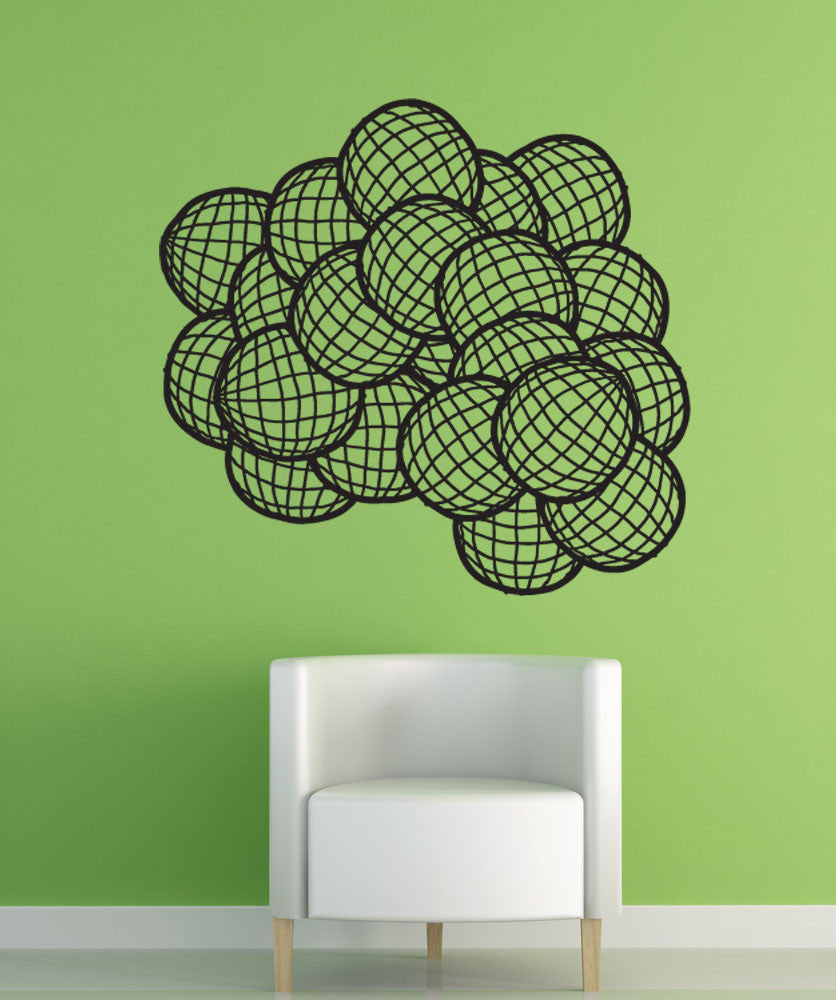 Vinyl Wall Decal Sticker Spheres #1317