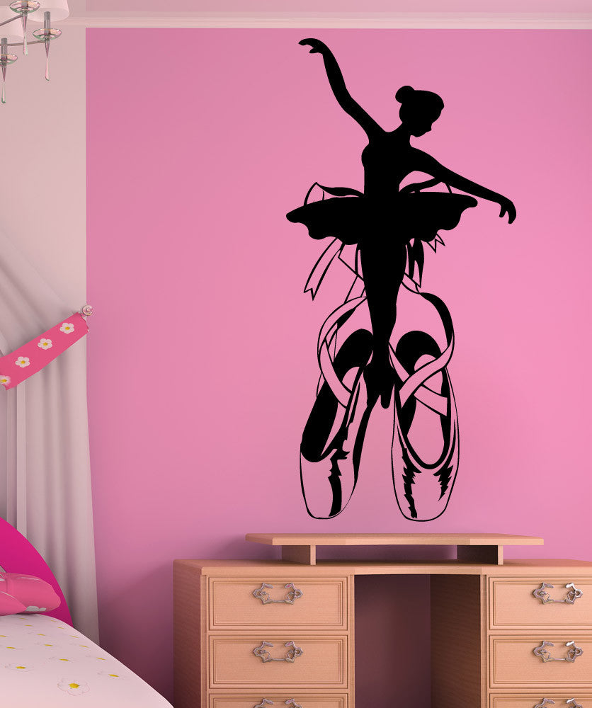 Vinyl Wall Decal Sticker Ballerina Design #1325