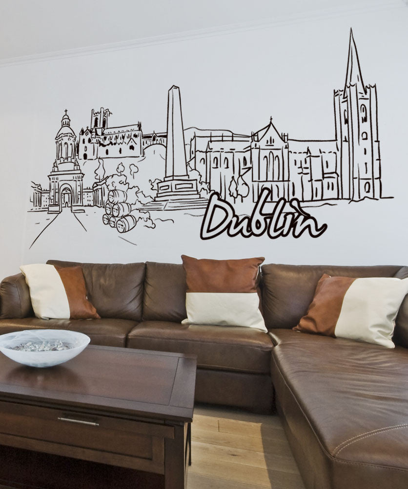 Vinyl Wall Decal Sticker Dublin #1371