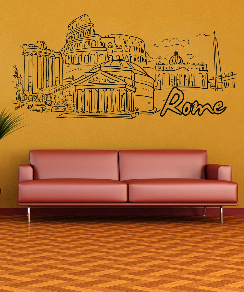 Vinyl Wall Decal Sticker Rome #1373
