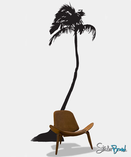 Vinyl Wall Art Decal Sticker Palm Tree #140