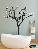 Vinyl Wall Art Decal Sticker Blossom Big Tree #141