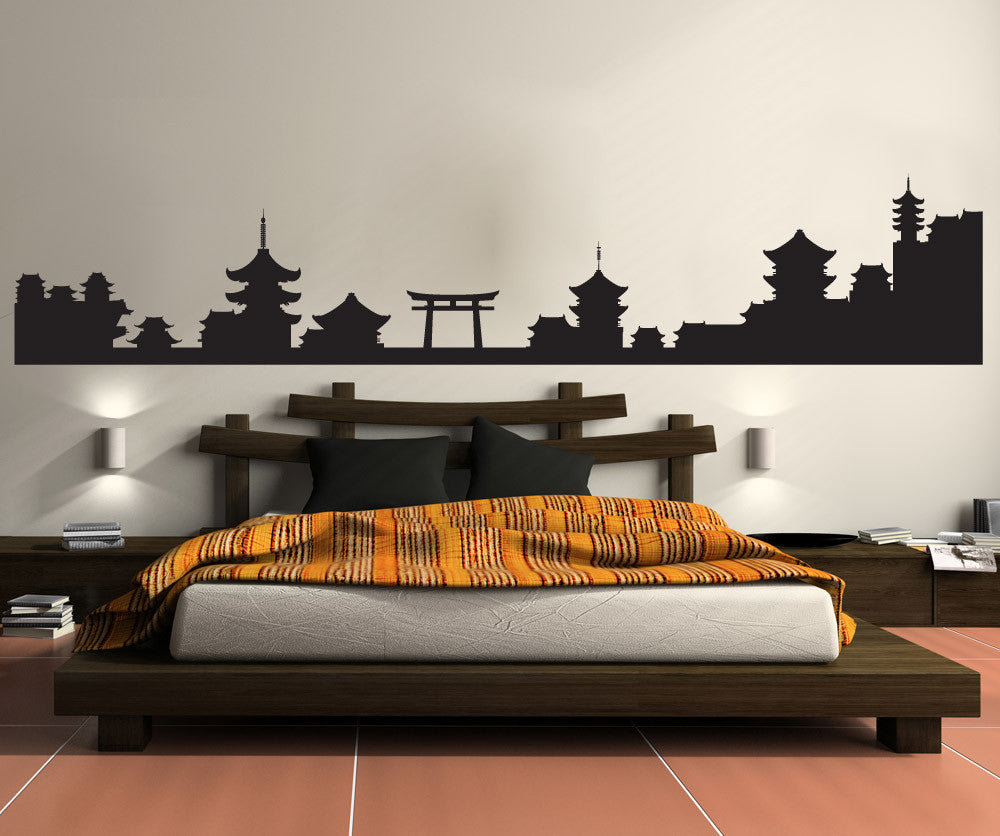 silhouette japanese wall - photo #8