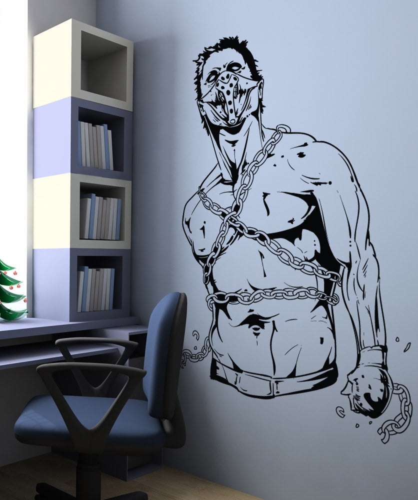Vinyl Wall Decal Sticker MMA Zombie #1485