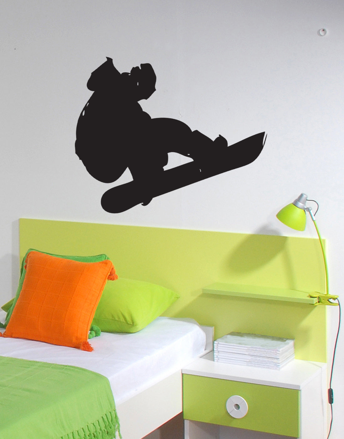 Snowboard Wall Decal | Snowboard Wall Art | StickerBrand