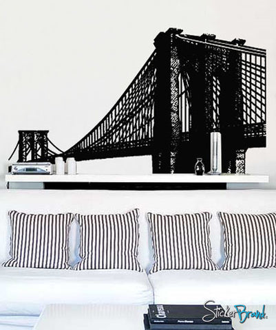 Vinyl Wall Decal Sticker Brooklyn Bridge New York NYC #149