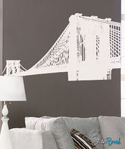 Brooklyn Bridge New York NYC Vinyl Wall Decal Sticker. #149
