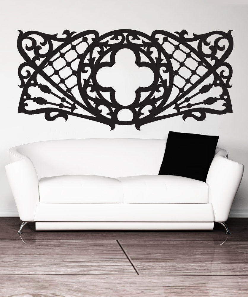 Vinyl Wall Decal Sticker Vintage Pattern #1511