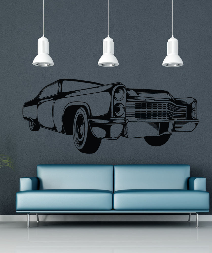 Vinyl Wall Decal Sticker Vintage American Car #1555