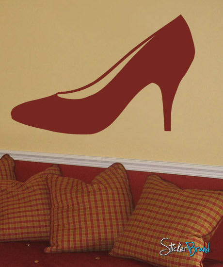 Vinyl Wall Art Decal Sticker Lady's Fashion High Heels #161