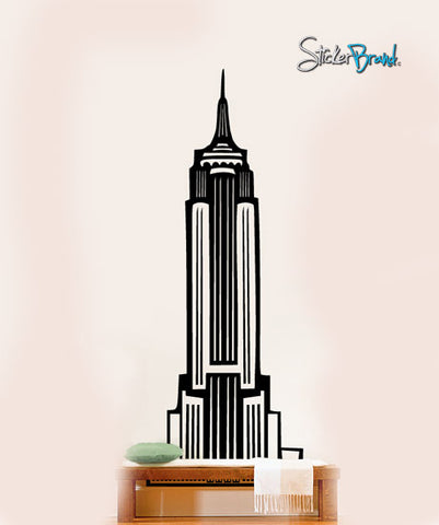 Vinyl Wall Art Decal Sticker Empire State Building NY #163