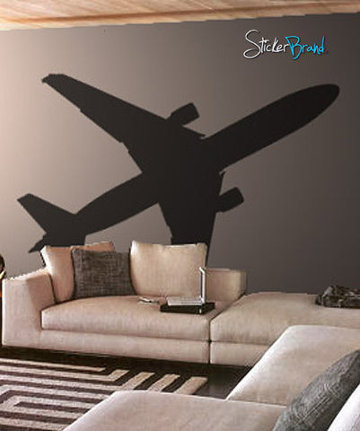 Vinyl Wall Art Decal Airplane 737 #164
