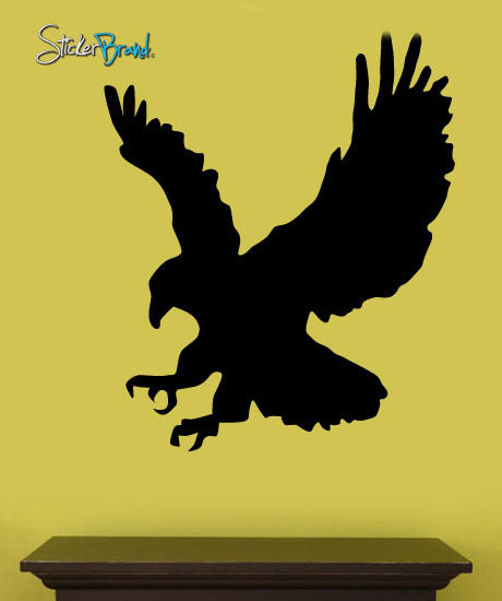 Vinyl Wall Art Decal Animal Eagle Claw Decoration #167