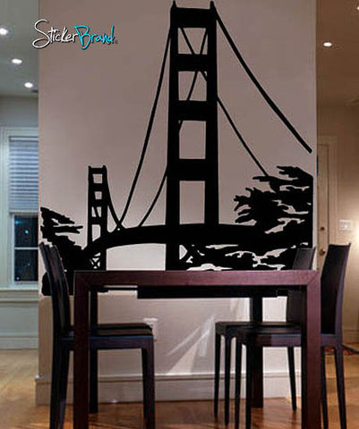 Vinyl Wall Decal Sticker Golden Gate Bridge #174