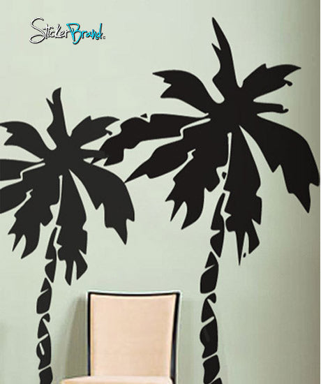 Vinyl Wall Decal Sticker Florida Palm Trees #181