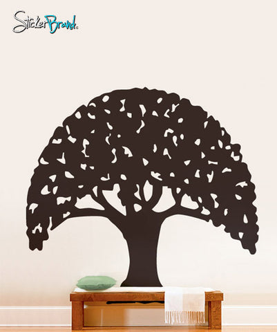 Vinyl Wall Decal Sticker Umbrella Tree Design #188