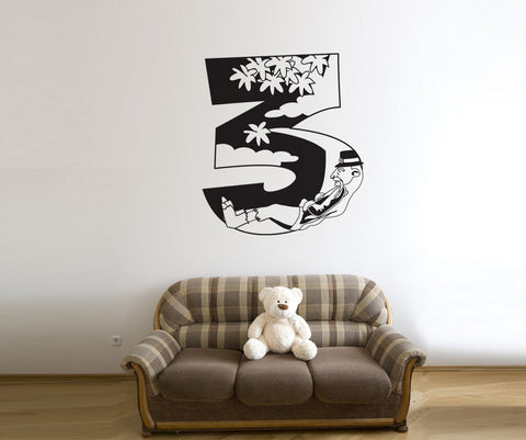 Vinyl Wall Decal Sticker Rip Van Winkle Number Three #OS_DC244
