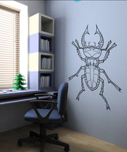 Vinyl Wall Decal Sticker Bug #OS_DC213