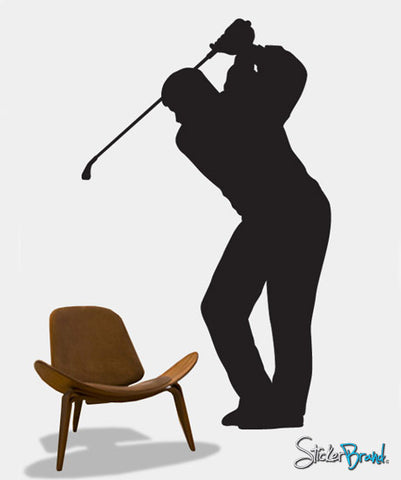 Vinyl Wall Decal Sticker Golfer #220